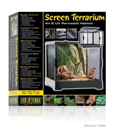 Exo Terra Screen Terrarium 45 x 45 x 45cm