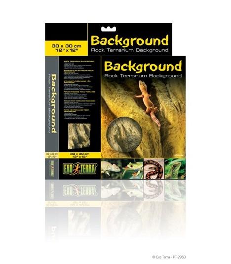 """Exo Terra Rock Terrarium Background 30 x 30cm / 12"""" x 12"""""""