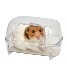Wild Sanko Hamster Bath House Wide