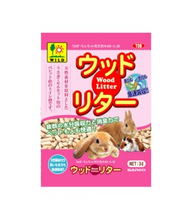 Wild Sanko Wood Litter 3L