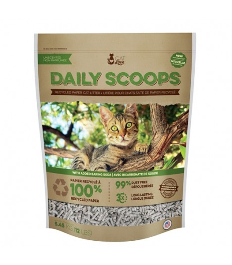 Daily Scoops Recycled Paper Cat Litter