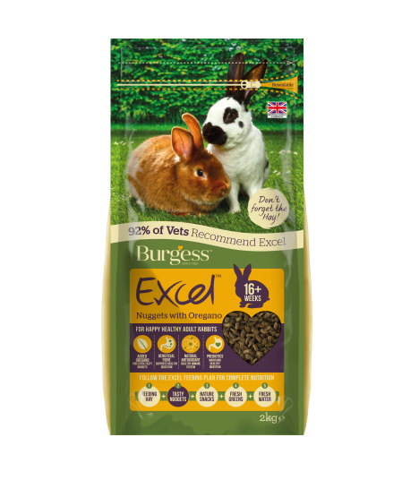 Burgess Excel Rabbit Oregano 2kg