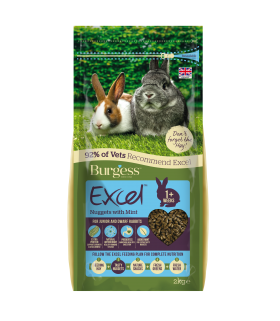 Burgess Excel Rabbit Junior & Dwarf 2kg