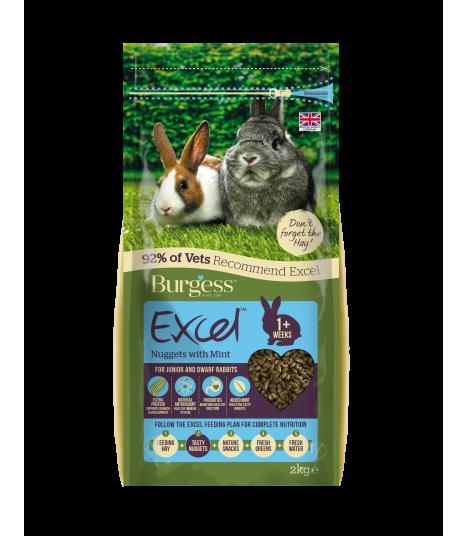 Burgess Excel Rabbit Junior & Dwarf 2kg