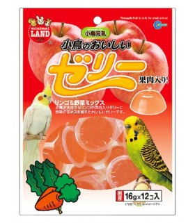 Marukan Apple & Vegetable Mix Jelly for Bird