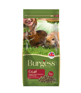 Burgess Excel Rabbit Mature Cranberry & Ginseng 2kg