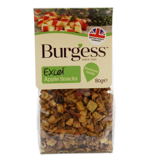 Burgess Excel Nature Apple Snack 80g