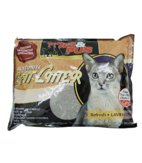Tom & Pus Bentonite Litter Lavender 10L