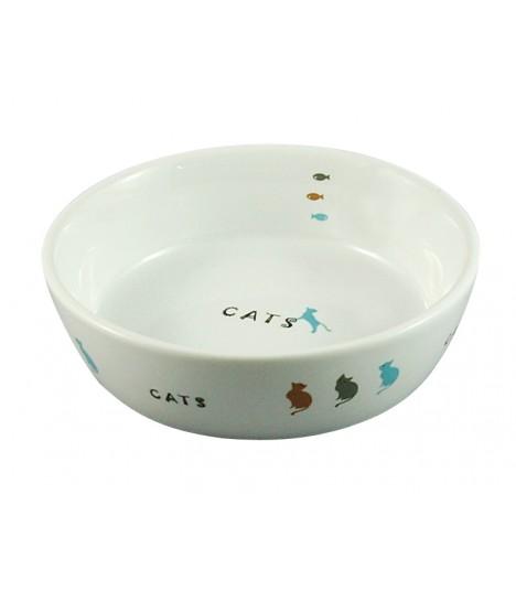 Marukan Porcelain Pet Feeder Bowl CT203