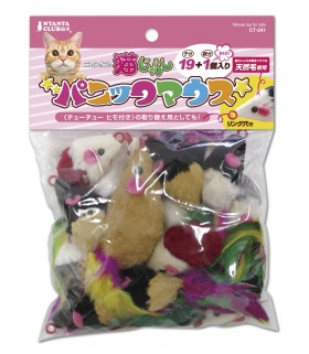 Marukan Panic Mouse Toy 19+1