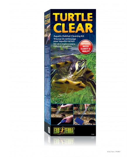 Exoterra Turtle Clear Cleaning Kit