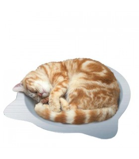 Marukan Cat Shape Aluminium Pan for Cat Regular