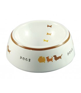 Marukan Pet Feeder Decorative Porcelain Bowl