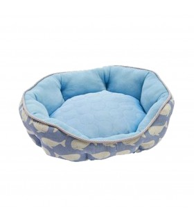 Marukan Cooling Dog Bed Blue