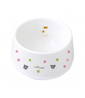 Marukan Easy Meal Ceramic Dog Dish S