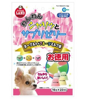 Marukan Tasty Fruits, Milk & Yogurt Sherbet for Dog