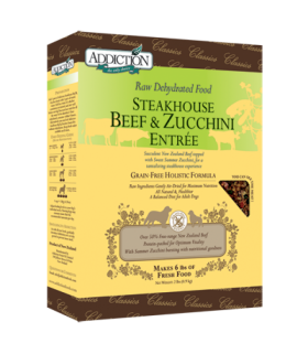 Addiction Streakhouse Beef & Zucchini Entree (Grain Free)