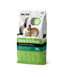 Back 2 Nature Small Animal Bedding & Litter 30 Litre