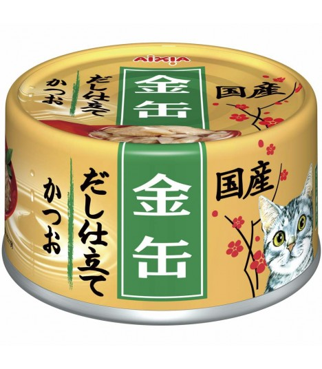 Aixia Kin-can Dashi - Skipjack Tuna in Skipjack Sauce 80g