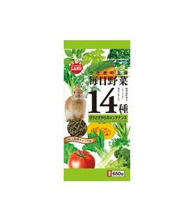 Marukan Daily Veggies 14 Maintenance for Rabbit 650g