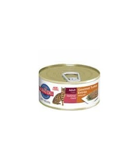 Science Diet Adult Gourmet Turkey Entree Cat Canned Food 5.5oz