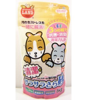Marukan Hygiene Powder Bathing Sand 1kg