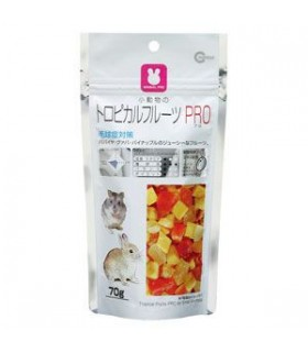 Marukan Tropical Fruits PRO for Small Animals 70g