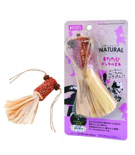 Marukan Natural Catnip Blend Chewing Fish