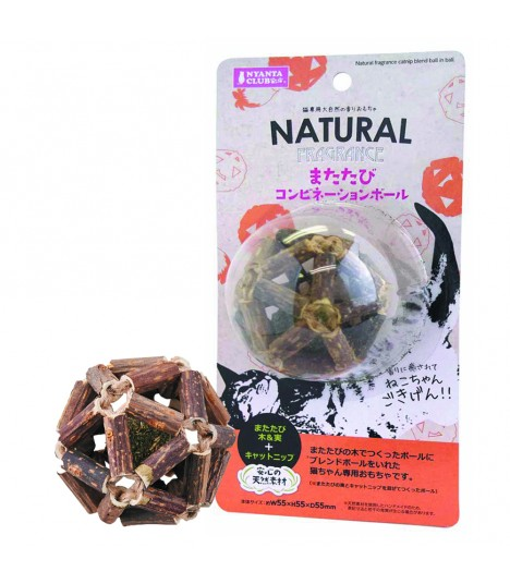 Marukan Natural Catnip Blend Stick Ball