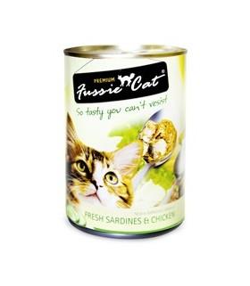 Fussie Cat Fresh Sardine & Chicken 400g X 24cans