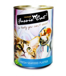 Fussie Cat Fresh Seafood Platter 400g X 24 cans