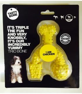 Tasty Bone Trio Bone Nylon Chicken S