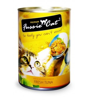 Fussie Cat Fresh Tuna 400g X 24cans