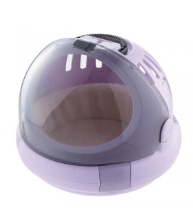 Richell Corole Purple Outdoor Carrier Cat Bed