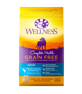 Wellness Complete Health Grain Free Whitefish & Menhaden Meal