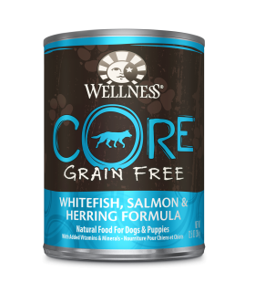 Wellness CORE Grain Free Salmon, WhiteFish & Herring