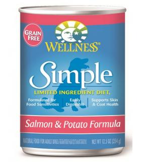 Wellness Simple Solutions Grain Free Salmon & Potato 12.5oz