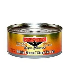 Evangers Holistic Pheasant Dinner Cat Canned Food 156g