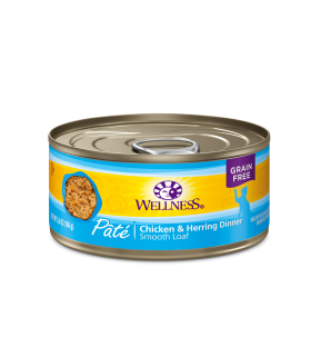 Wellness Complete Health Grain Free Chicken & Herring for Cat 5.5oz