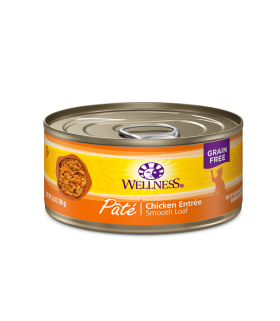 Wellness Complete Health Grain Free Pate - Chicken for Cat 5.5oz