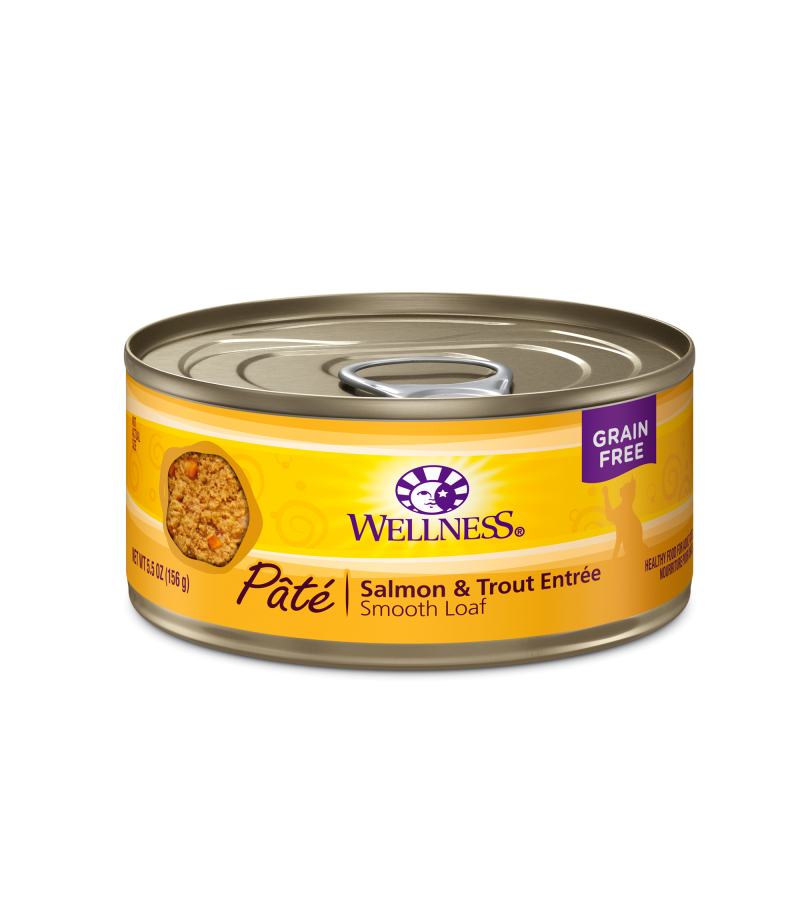Wellness Complete Health Grain Free Salmon Amp Trout For Cat