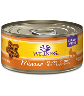 Wellness Minced Grain Free Chicken Dinner 5.5oz