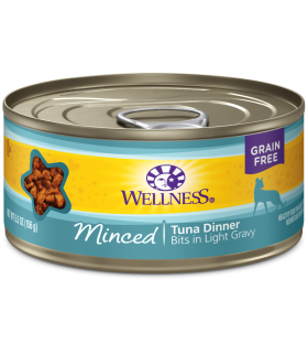 Wellness Minced Grain Free Tuna Dinner 5.5oz