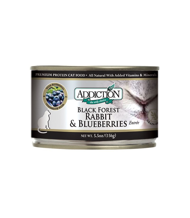 Black Forest Rabbit And Blueberries Addiction Dog Food