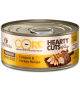 Wellness CORE Hearty Cuts in Gravy Shredded Chicken & Turkey for Indoor Cat 5.5oz
