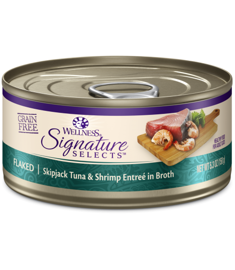 Wellness CORE Signature Selects Flaked Tuna & Shrimp 5.3oz
