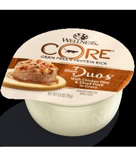 Wellness CORE Divine Duos Chicken & Duck for Cat 2.8oz