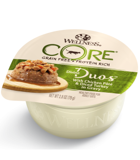 Wellness CORE Divine Duos Chicken & Turkey for Cat 2.8oz