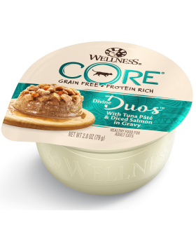 Wellness CORE Divine Duos Tuna & Salmon for Cat 2.8oz
