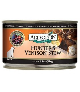 Addiction Cat Hunter's Venison Stew Grain Free
